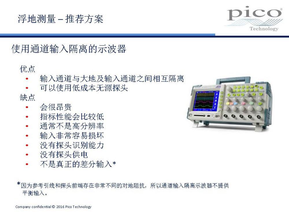 照明系统中的浮地信号和电源的精确测量挑战与应对